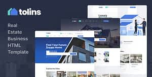 Tolips – Real Estate Business HTML Template