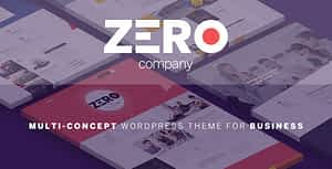 Zero – Corporate Creative WordPress Theme