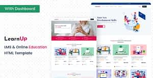 LearnUp – Education HTML Template