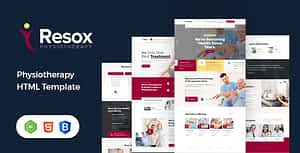 Resox – Physiotherapy HTML Template