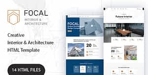 Focal – Architecture HTML Template