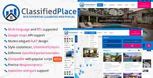 Real Estate – Geo Classified Ads PHP Script