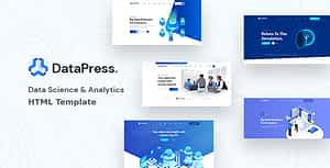 DataPress – Data Science & Analytics HTML Template