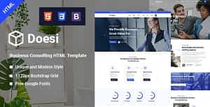 Doesi-Business HTML Template