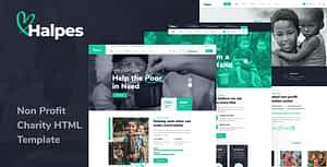 Halpes – Non Profit Charity HTML Template