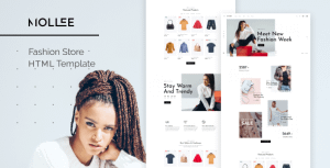 Mollee – Fashion Store HTML Template