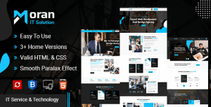 Moran – Technology & IT Solutions Template