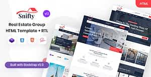 Snifty – Real Estate Group HTML Template