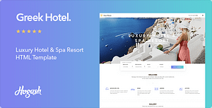 Greek – Hotel HTML Template