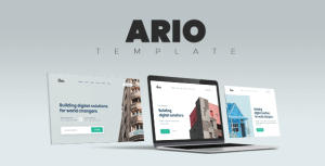 Ario – Multi-Purpose HTML Template for Business and Startups