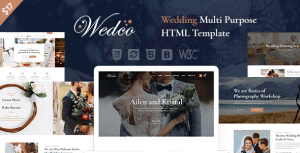 WedCo – Wedding HTML Template