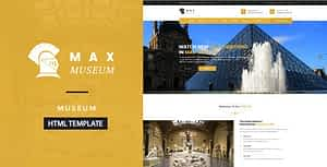 Max Museum – Historical & Artifacts HTML Template