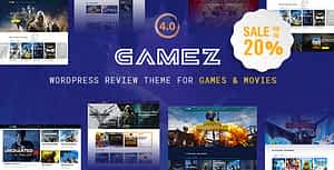 Best WordPress Review Theme For Games, Movies And Music – Ga…