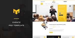 Mitri Events – Conference PSD Template