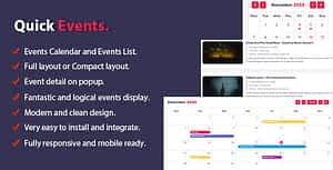 Quick Events For PHP – PHP Script