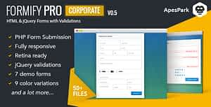 Formify Pro Corporate – PHP Script