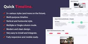 Quick Timeline For PHP – PHP Script