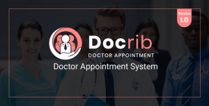 Docrib – Doctor Appointment System – PHP Script