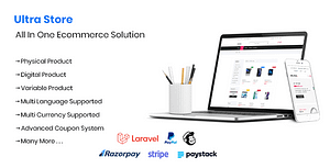 Ultra Store – Laravel All In One Ecommerce Solution – PHP Script