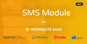SMS Module for Worksuite SAAS – PHP Script