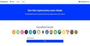 Cryptocurrency Faucet List – PHP Script