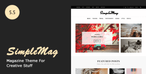 SimpleMag – Magazine theme for creative stuff