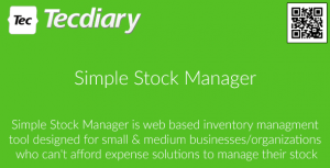 Simple Stock Manager – PHP Script