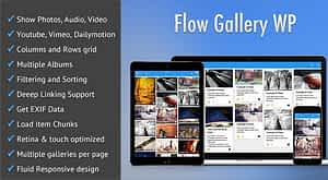 Flow Gallery – Multimedia Gallery WordPress Plugin
