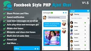 Facebook Style Php Ajax Chat – Zechat PHP Script