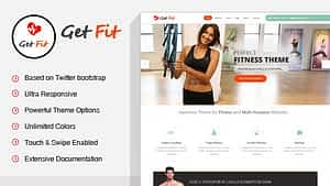 GetFit – Fitness Gym WordPress Theme