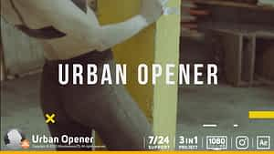 Urban Opener After Effects Project