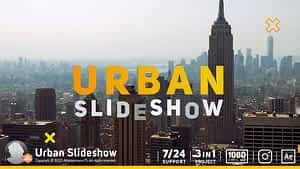 Urban Slideshow After Effects Project