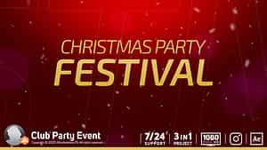 Club Party Event After Effects Project