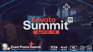 Event Promo Summit | After Effects Project