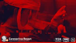 Corona Virus News Report After Effects Project