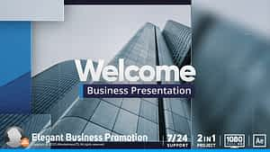 Corporate Business Presentation After Effects Project