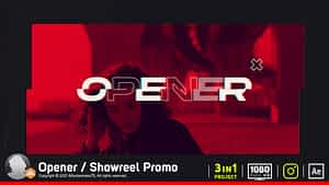 Opener / Showreel Promo | After Effects Project