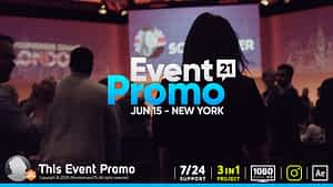 This Event Promo   After Effects Project