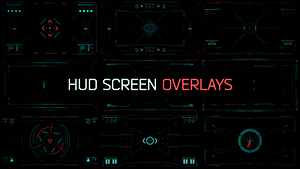 HUD Screen Overlays | After Effects Project