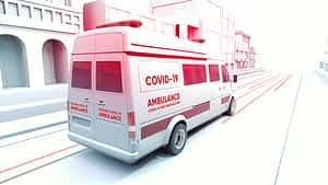 Covid-19 3D Medical Promo After Effects Project