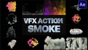 VFX Action Smoke | After Effects After Effects Project
