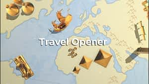 Travel Opener  | After Effects Template After Effects Project