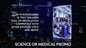 Science or Medical Promo | After Effects Template | After Effects Project