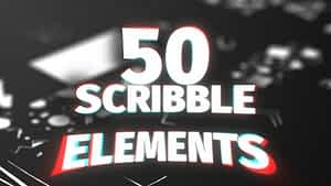 Scribble Elements Pack | After Effects Project