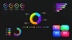 Infographic Graphs Toolkits   After Effects Project