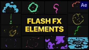 Flash FX Elements Pack 04   After Effects   After Effects Project
