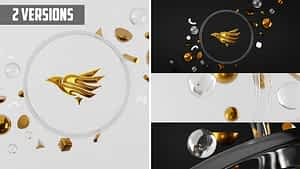 3D Logo Reveal After Effects Project