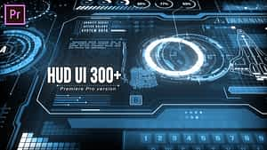 HUD UI Pack 300+ for Premiere Pro | After Effects Project