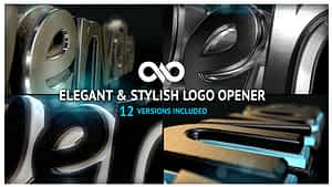 Elegant & Stylish Logo Opener After Effects Project