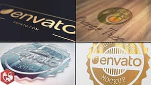 Realistic Logo | After Effects Project